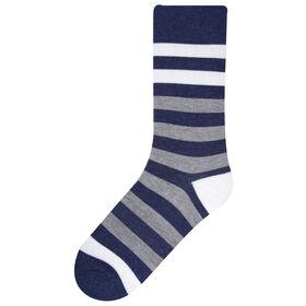Bachman Stripe Sock, Graphite