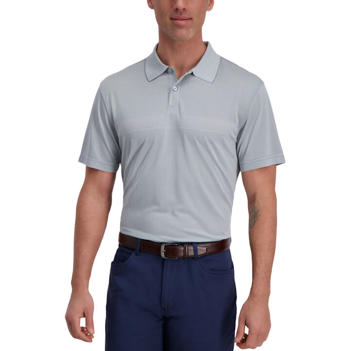 Cool 18® Pro Block Textured Golf Polo, Quarry