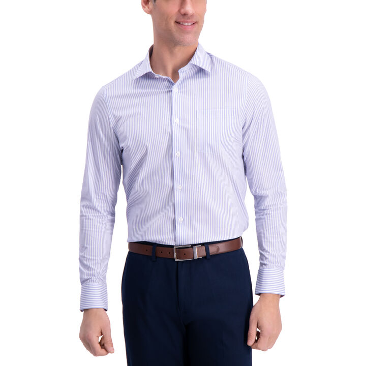 Striped Premium Comfort Dress Shirt,