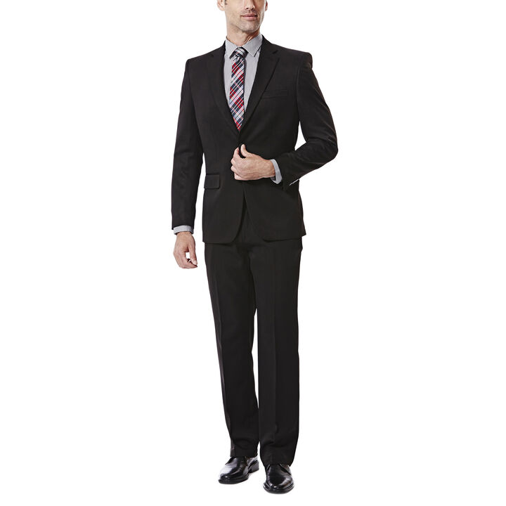 Travel Performance Suit Separates Jacket, Black