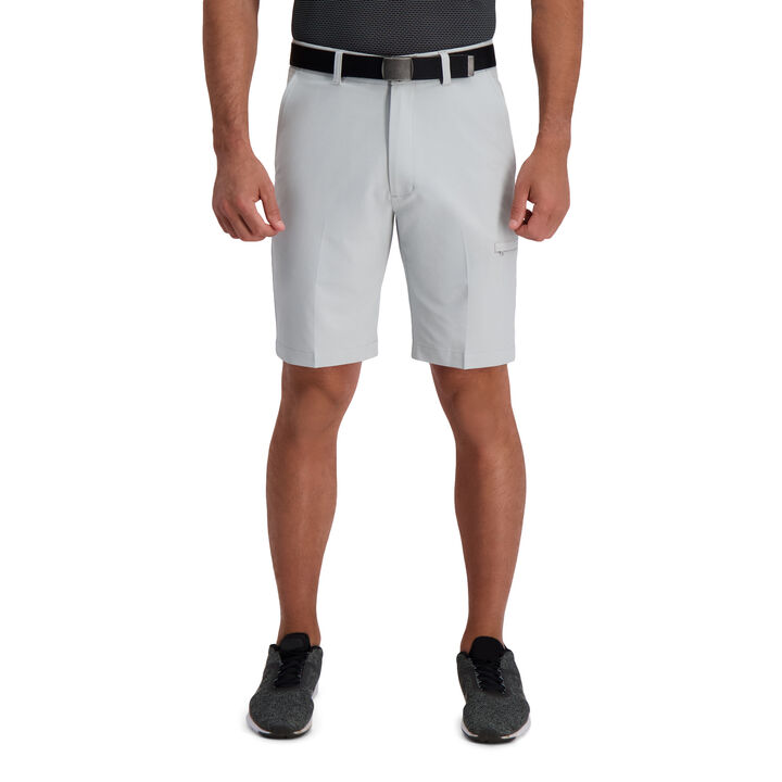 The Active Series™ Stretch Performance Utility Short, Light Grey open image in new window