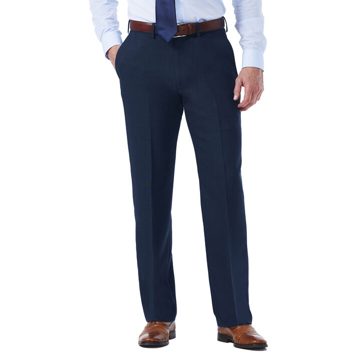 Travel Performance Suit Separates Pant, Navy open image in new window