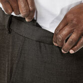 Big & Tall J.M. Haggar Premium Stretch Suit Pant - Flat Front, Chocolate, hi-res