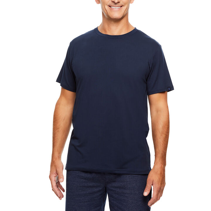 Crew Neck Sleep Shirt, Navy