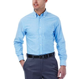 Solid Oxford Dress Shirt, Bright Blue