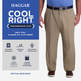 Big & Tall Cool Right® Performance Flex Pant,  view# 5
