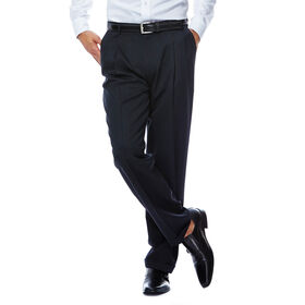 Smart Fiber Herringbone Dress Pant, Black