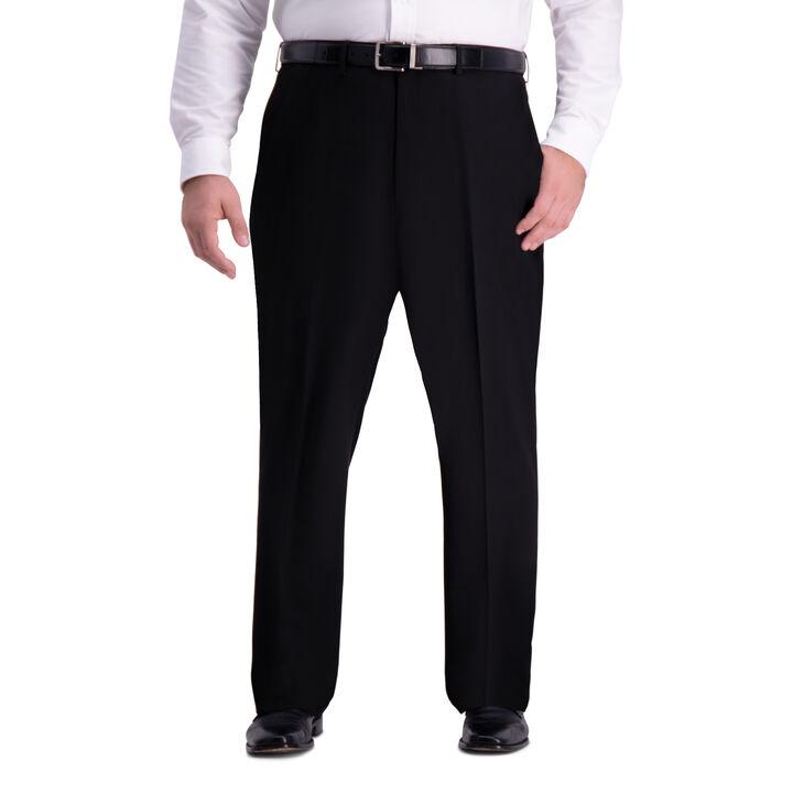 Big & Tall J.M. Haggar 4-Way Stretch Dress Pant, Black
