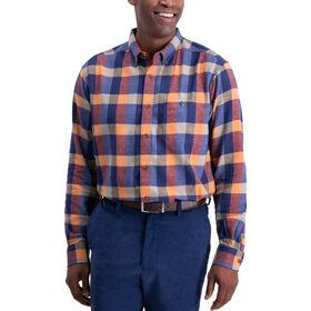 Buffalo Plaid Shirt, Peacoat