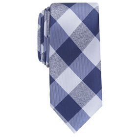 Walter Plaid Tie, Graphite