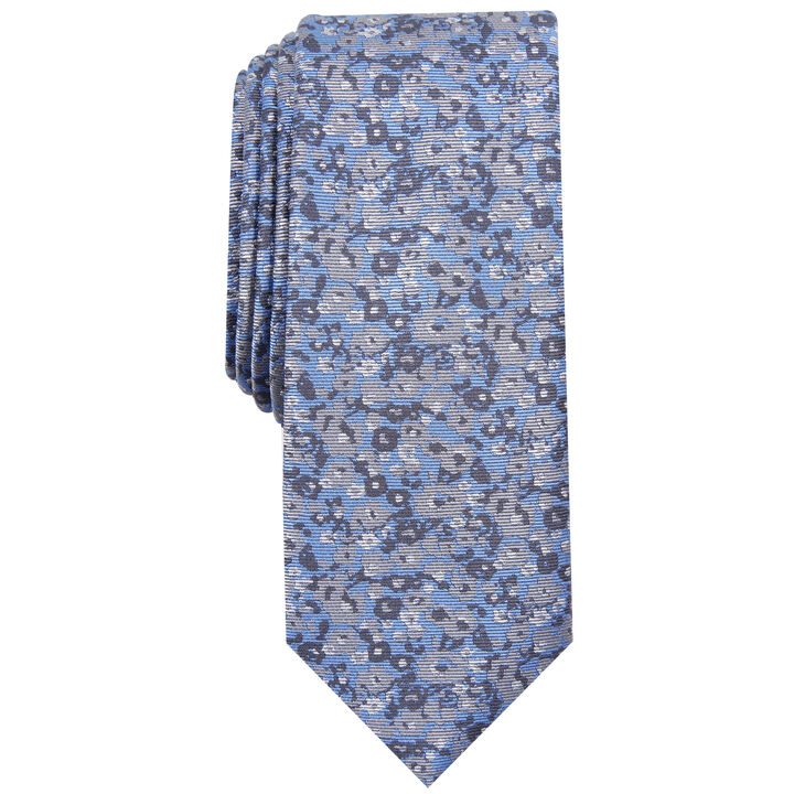 Floral Tie, Red