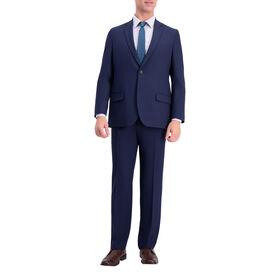 J.M. Haggar 4-Way Stretch Suit Jacket, Blue