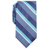 Wide Stripe Tie, Red 1