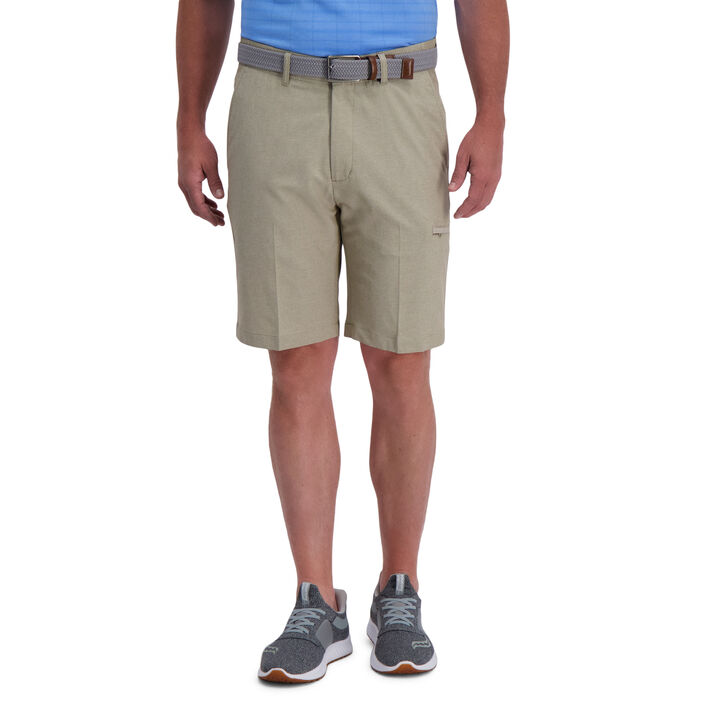 The Active Series™ Stretch Performance Utility Short, Khaki open image in new window