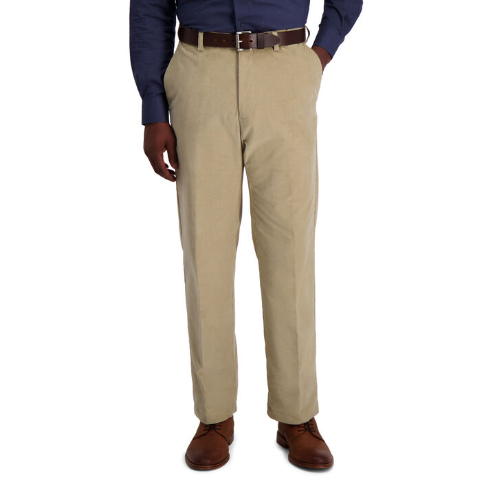 Stretch Corduroy Pant, Khaki open image in new window