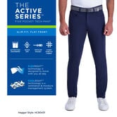 The Active Series™ 5-Pocket Tech Pant, Dark Grey 5