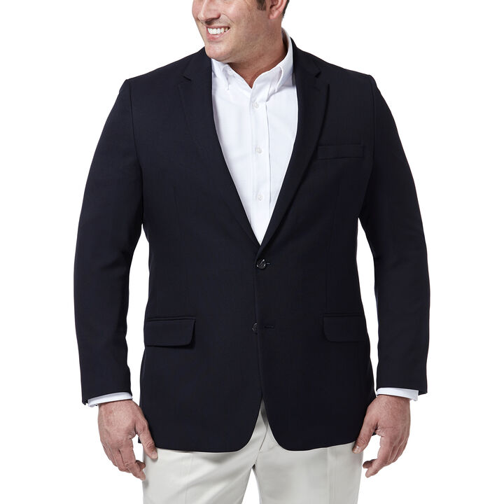 Big & Tall Haggar InMotion Blazer, Midnight