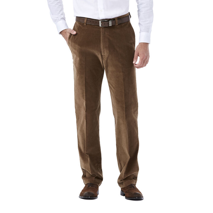 Stretch Corduroy Pant, Camel open image in new window