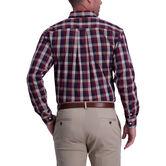 Gingham Woven Shirt, Navy 2