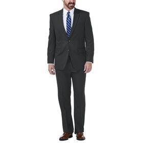 J.M. Haggar Grid Suit Jacket, Black / Charcoal