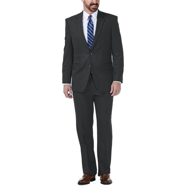 J.M. Haggar Grid Suit Jacket, Black / Charcoal, hi-res
