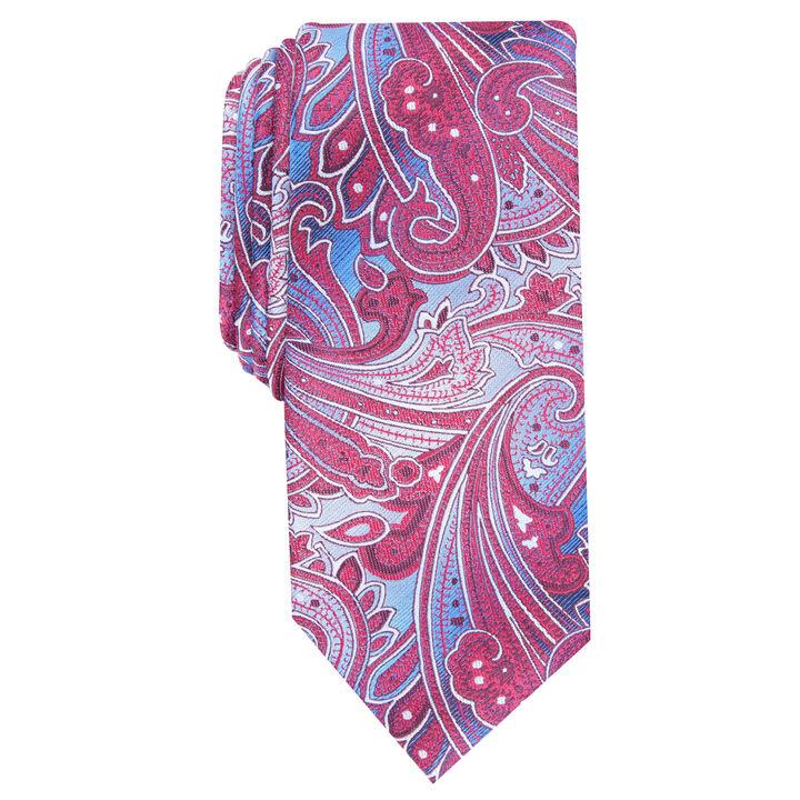 Peeler Paisley Tie, Red