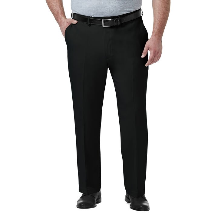 Big & Tall Premium Comfort Dress Pant, Black