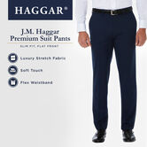 J.M. Haggar Premium Stretch Suit Pant, Black, hi-res