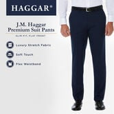 J.M. Haggar Premium Stretch Suit Pant, Dark Heather Grey, hi-res