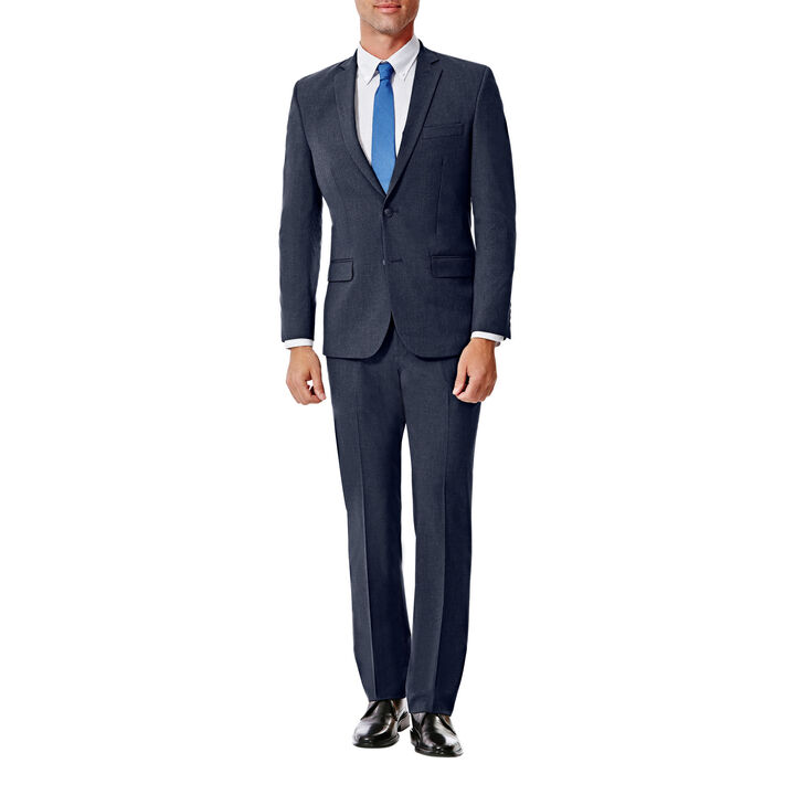 JM Haggar Slim 4 Way Stretch Suit Jacket, Bright Blue, hi-res
