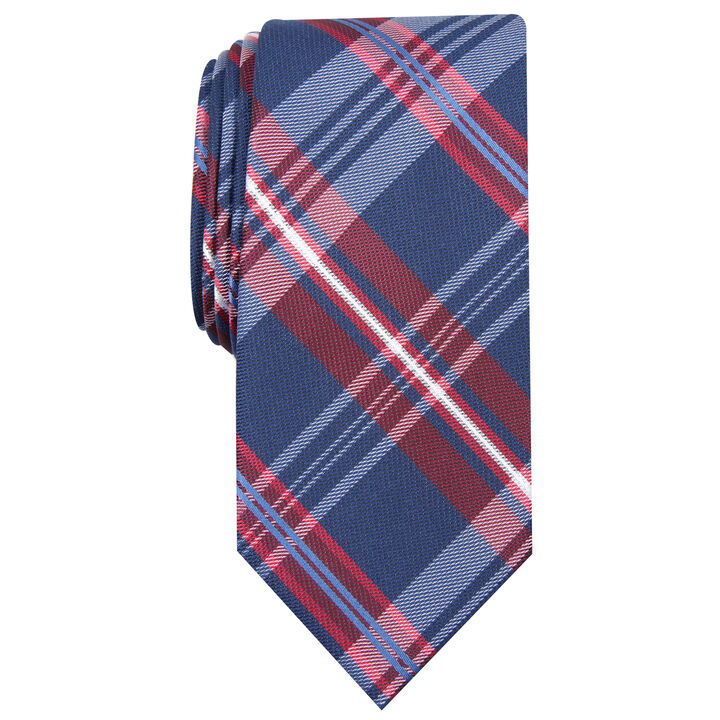 Sewell Plaid Tie, Red