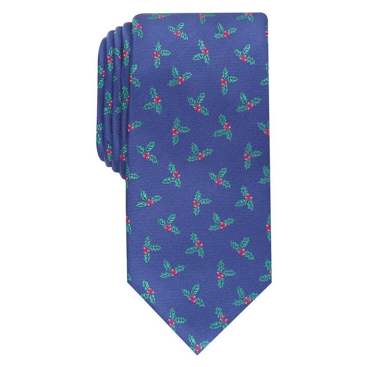Mistletoe Tie, Navy