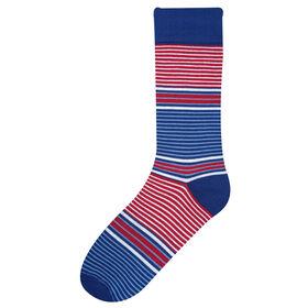 Stripe Sock, Navy