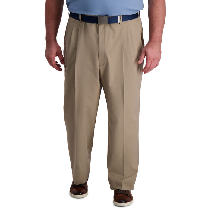 Big & Tall Cool Right® Performance Flex Pant, Khaki open image in new window