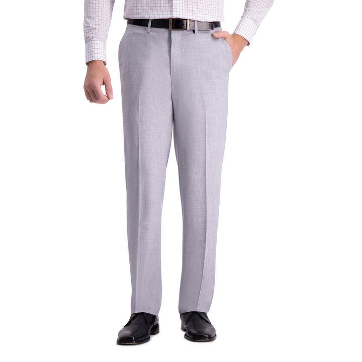 J.M. Haggar 4-Way Stretch Dress Pant, Light Grey
