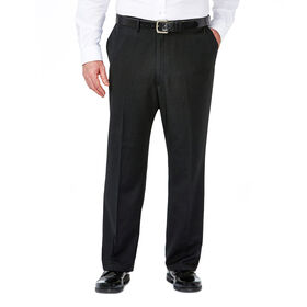 Big & Tall Travel Performance Suit Separates Pant, Black / Charcoal