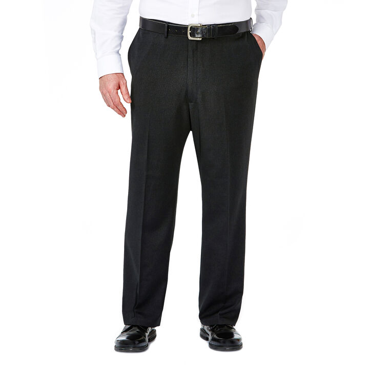 Big & Tall Travel Performance Suit Separates Pant,  Charcoal