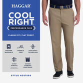Cool Right® Performance Flex Pant, Brown Heather view# 5