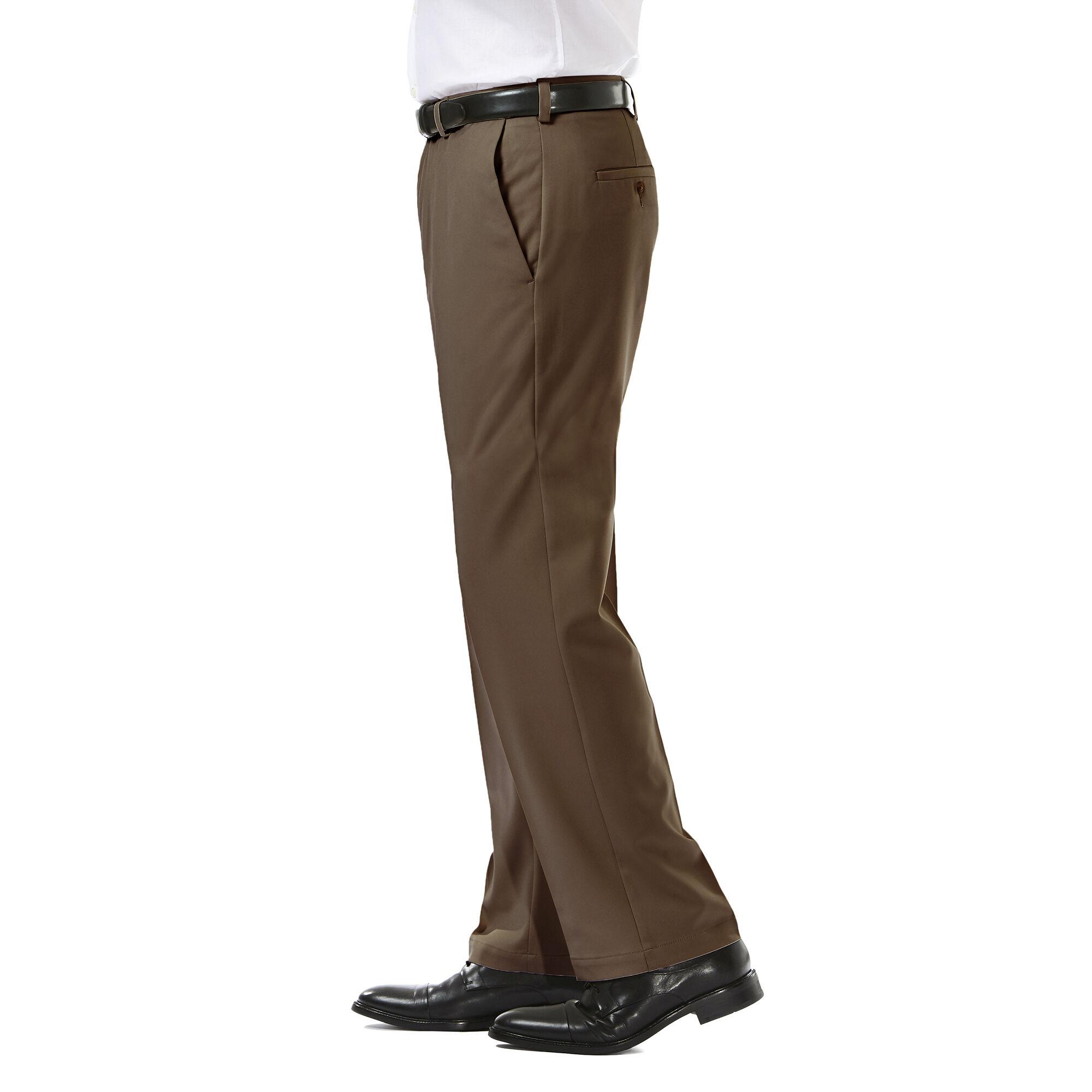 4dd4896a43 Cool 18 Pro Pant  Classic Fit, Flat Front, Stretch, No Iron   Haggar.com