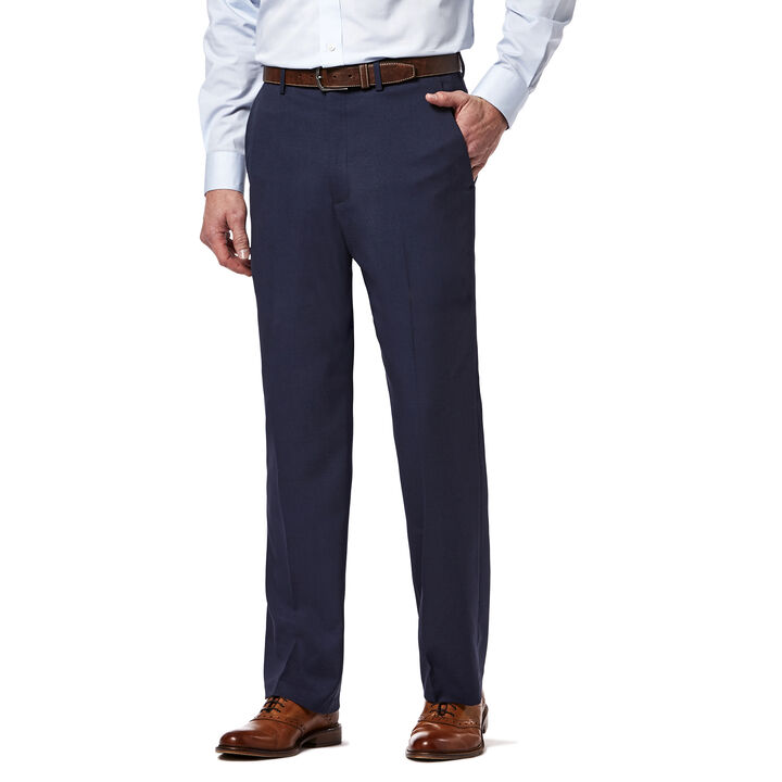 Expandomatic Stretch Heather Dress Pant, Blue