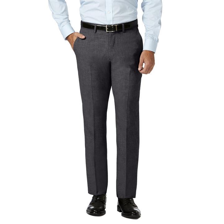 J.M. Haggar 4 Way Stretch Dress Pant, Medium Grey