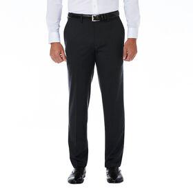 J.M. Haggar Premium Stretch Shadow Check Suit Pant, Black