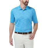 Cool 18® Space Dye Polo, Aspen Blue 1