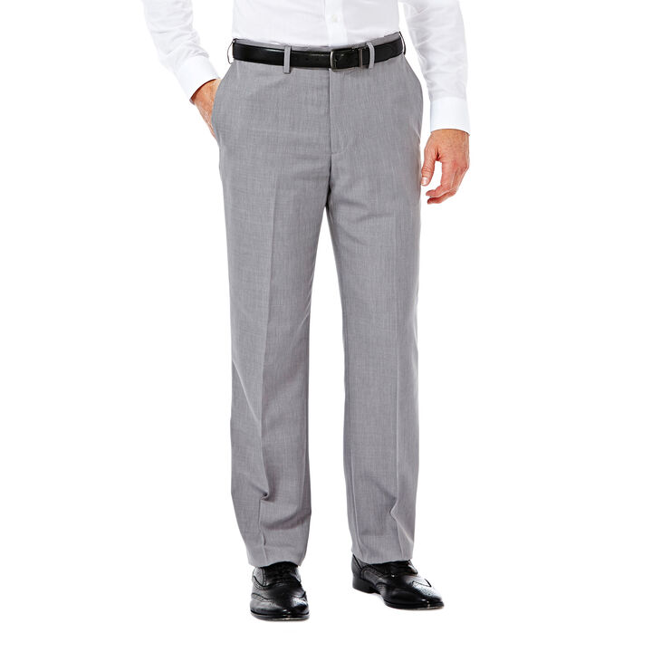 E-CLO™ Stria Heather Dress Pant, Grey