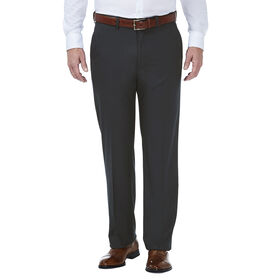 J.M. Haggar Grid Suit Pant, Black / Charcoal