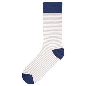 Coolwood Stripe Socks, Brown Heather