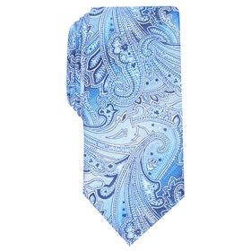 Peeler Paisley Tie, Navy