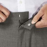 J.M. Haggar Dress Pant - Sharkskin, Medium Grey 5