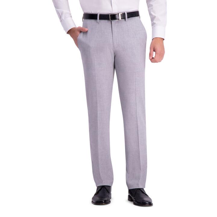 JM Haggar Slim 4 Way Stretch Suit Pant, Light Grey open image in new window