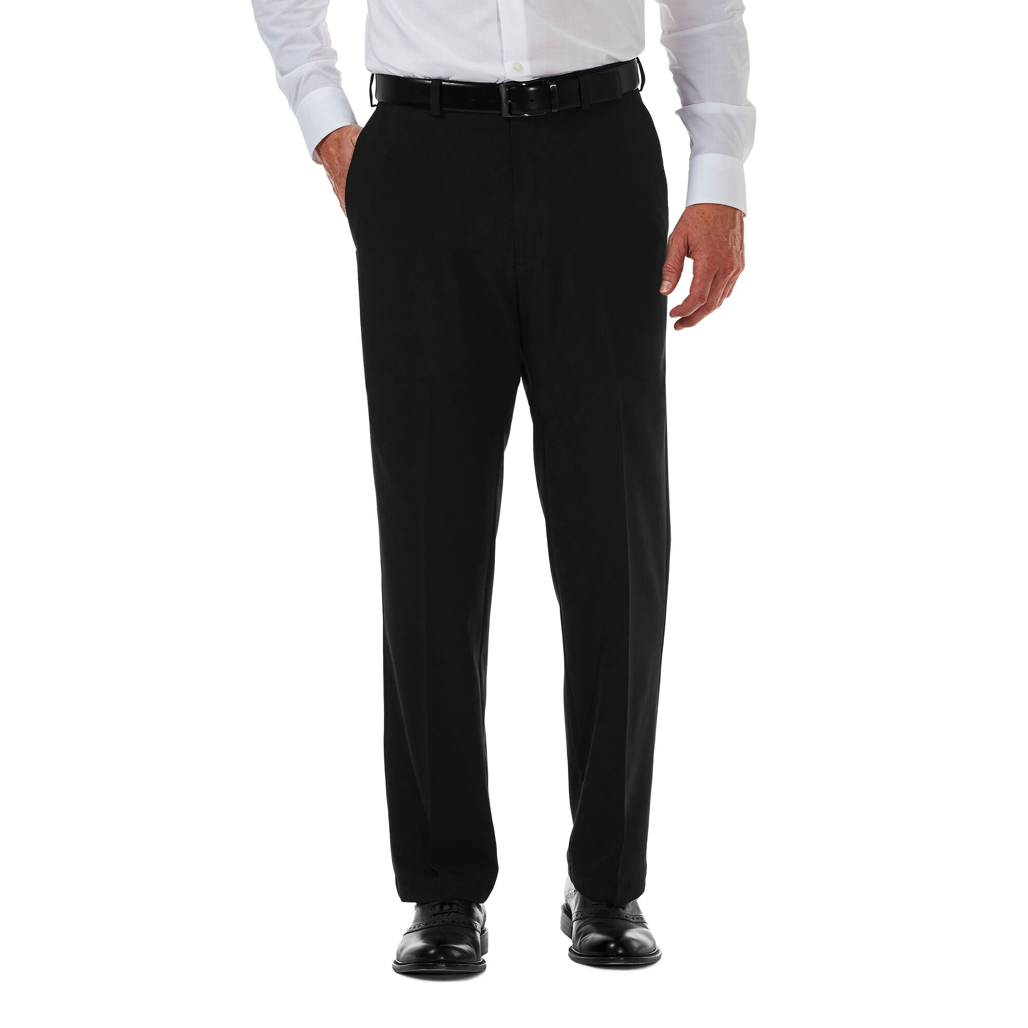 145dde659c1b Cool 18 Pro Pant| Classic Fit, Flat Front, Stretch, No Iron | Haggar.com